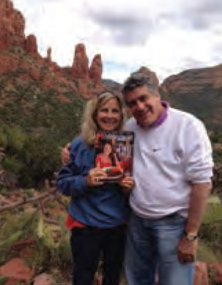 Cindy and Jerry Green traveled with Monthly to the red rocks of Sedona, Arizona.