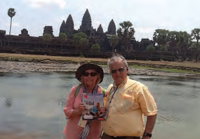 John and Kathy Pagkos of Callawassie Island took Monthly along to Angkor Wat in Cambodia.