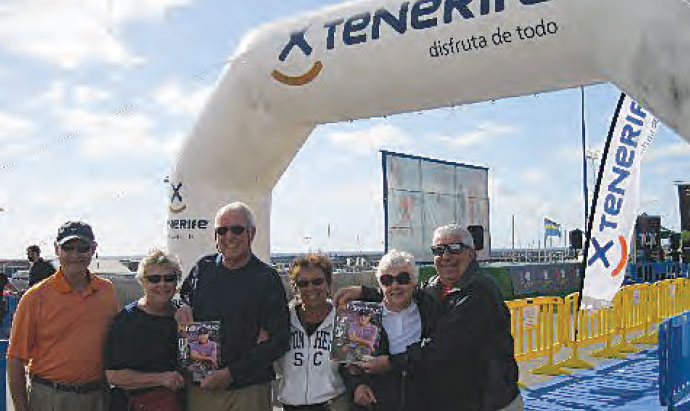 Larry and Lee Creswell, Jack and Louise Powers, and Pete and Suzy Ungaro took Monthly to Tenerife in the Canary Islands.