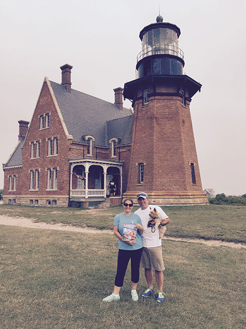 Allison, Andy and Hunter Seman took