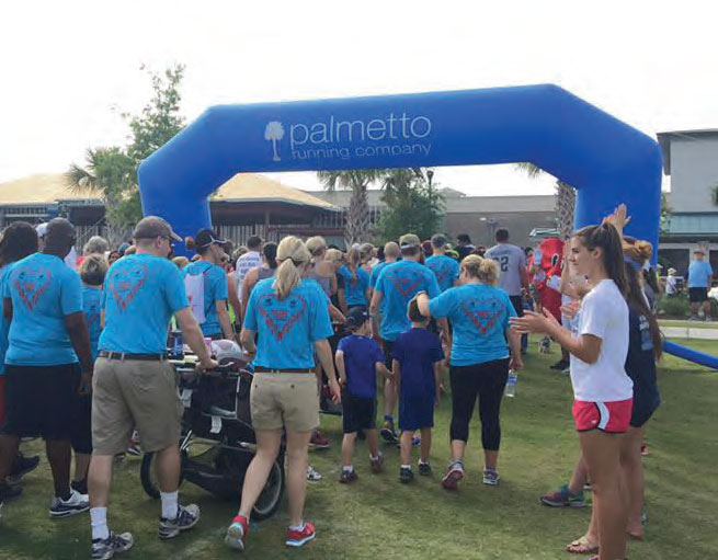 Palmetto Heart Walk