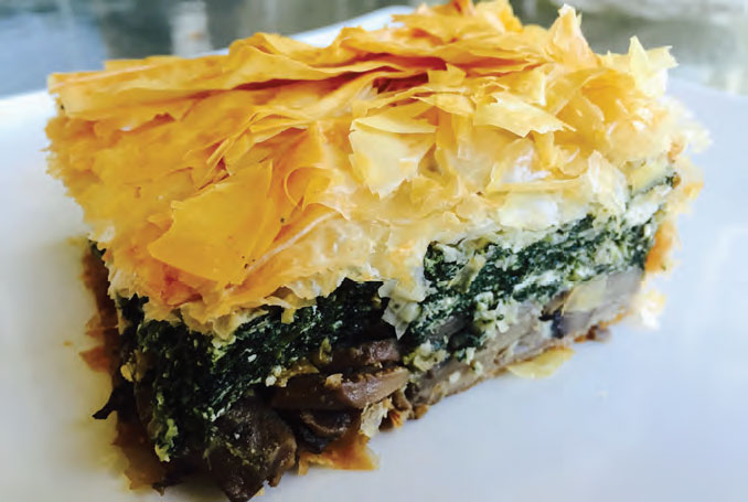 Spanakopita with Mushrooms2