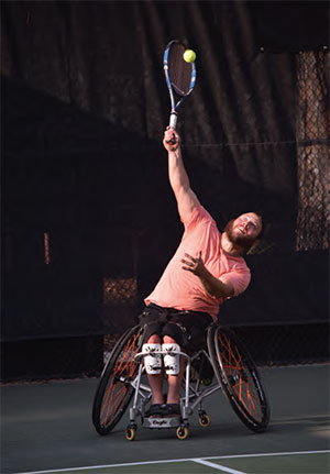 PTR WHEELCHAIR TENNIS
