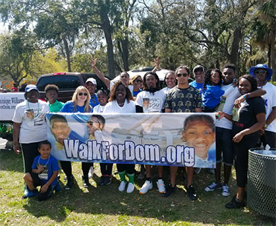 Walk for Dom