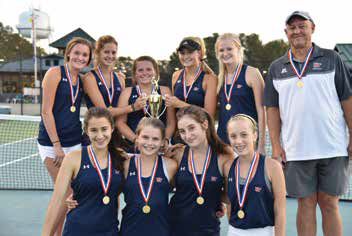 Hilton Head Preps girls tennis