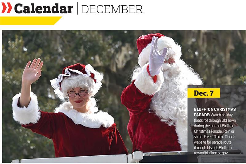 December 2019 Hilton Head Calendar of Events