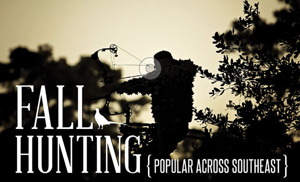 Fall hunting popular across Southeast