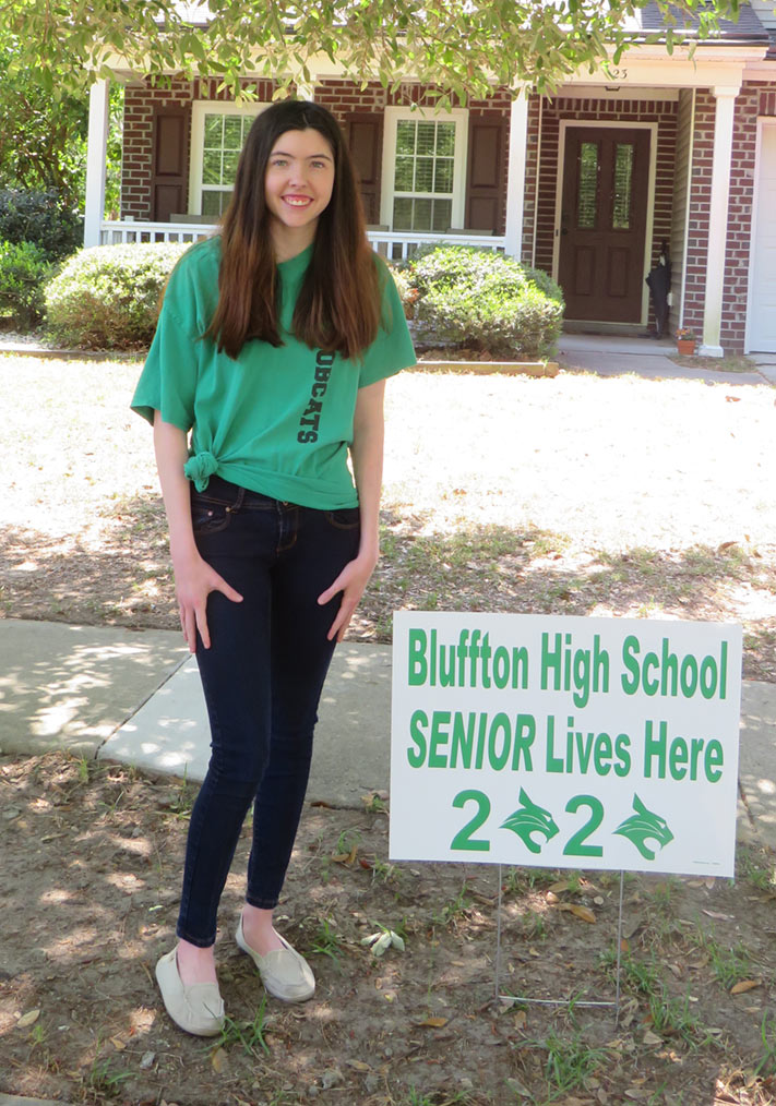 Bluffton High in the shade 2