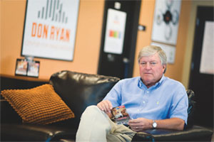 David Ropes, co-founder of mobiPET, used the Don Ryan Center for Innovation to help get his business off the ground.