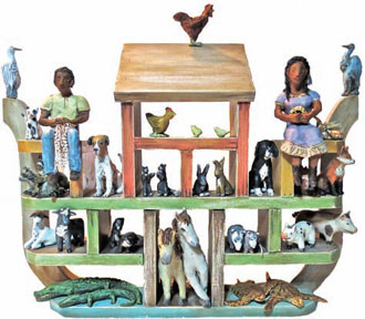 "Recent Work by Nancy Mitchell, ""Gullah's Ark"""
