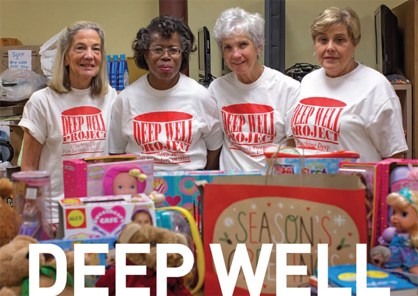 DEEP WELL OFFERS A HAND UP THIS HOLIDAY SEASON