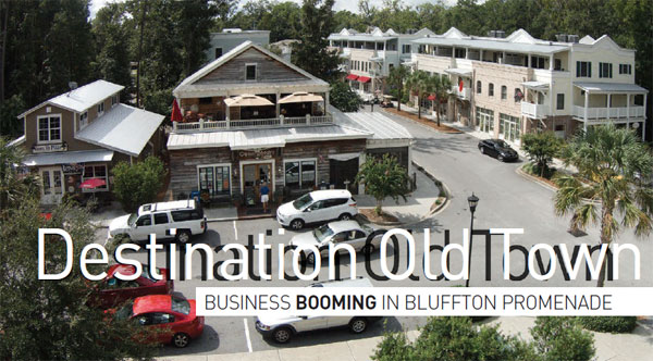 Business booming in Bluffton Promenade