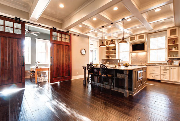 Lowcountry beauty resides in every inch of oldfield home for Elegant residences kitchens