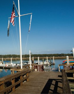 "Long Cove is one of a number of local marinas that has earned the Clean Marina designation from the S.C. Department of Health and nvironmental Control.""Long Cove is so much about the  natural environment, and this was truly the right thing to do,"" says general manager David Loan."