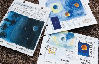 Artist Pam Johnson Brickell teaches workshops in nature journaling as a means of remembering 'time spent in places you love, soaking up the slower side of life.'