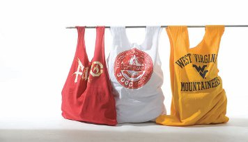 Reuse your stuff how to make a t shirt bag in five minutes for Reusable t shirt bags