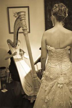 Phyllis Mauney: Have harp, will travel
