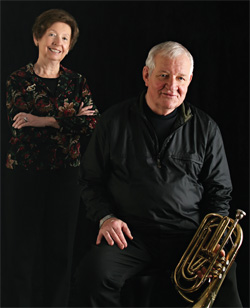 Lois & Bob Masteller... years of music and wedded bliss