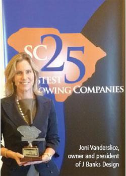 Joni Vanderslice, owner and president of J Banks Design