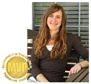 March's MVP: Kristin Dubrowski