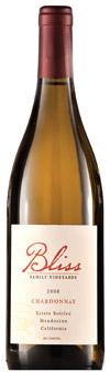 Bliss 2008 Mendocino Chardonnay