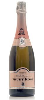 Gruet Rosé Brut non-Vintage. Light, fresh and fruity. Good value for a sparkling wine.