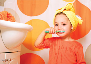Incorporate playfulness, safety in Children's Bathrooms