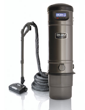 Green technology in the home isn't just about improving the environment; it's also about improving your health. The Beam Central Vacuum System, pictured at right, helps homeowners purify the air in their homes by removing harmful contaminants from carpeting.