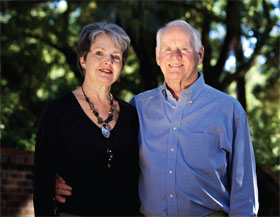 Dr. Joe and Kaye Black, co-chairs of the United Way