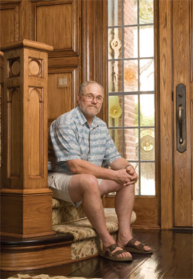 Marshland Millworks and Cabinetry brings world-class woodwork to Lowcountry homes.