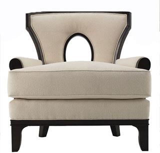 Breck Chair in Alexa Hampton Collection.