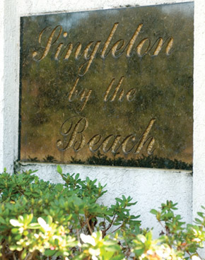 Singleton by the BEACH