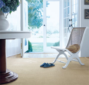 Inspired by the natural beauty of island living, a refreshing simplicity is brought to any space with the clean, textured look of nature's finest materials of seagrass and sisal. Ralph Lauren floorcovering is available exclusively at Rick Bent Flooring. Call them at (843) 689-9202.
