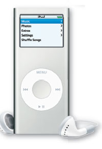 The broad range of iPod styles and colors allows you to get the right look and the right price for your mom's portable music. Fill it up with her favorites for a truly thoughtful gift. www.apple.com.