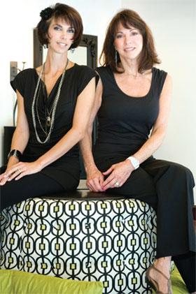 Tara Powers and Beverly Martin