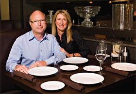 "pricePrice and Karen Beall at their restaurant, Truffles, which is expanding nationwide thanks to an agreement with Ruby Tuesday. ""They saw what we were doing in terms of fresh food prepared daily and wanted to know how we managed to pull it off,"" Price said."
