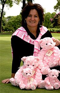 Val Skinner, six-time LPGA winner and veteran, founder of LIFE (LPGA Pros in the Fight to Eradicate Breast Cancer) and the Val Skinner Foundation, host of LIFE in the South.